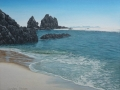 Otama Beach rocks