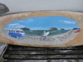 Surfboard painting-detail